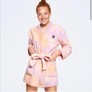 VS Pink Teddy Robe